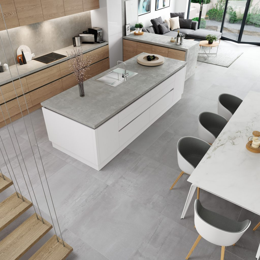 cuisine project cannes, kitchen project cannes, modern with gloss kitchen france