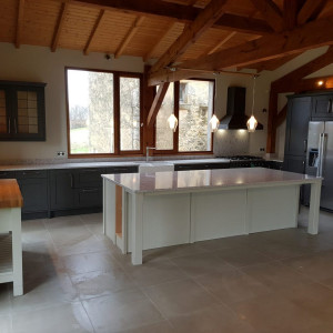 Solid Wooden Kitchen in the Dordogne