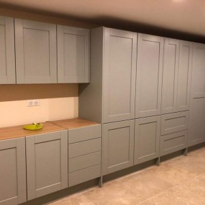Custom made cabinetry for a utility room (in progress)