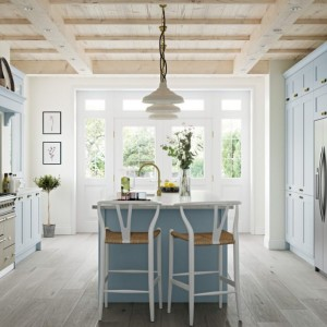 Shaker Style in Pantry Blue